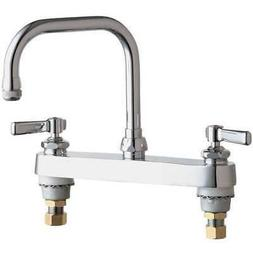 CHICAGO FAUCETS GIDDS-283741 Hot And Cold Water Sink Faucet