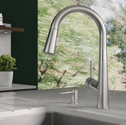 Hansgrohe Lacuna Pull Down Kitchen Faucet In Steel Optik Fin