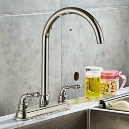NEW 2-handle Single Hole  RV Mobile Home Kitchen Sink Faucet