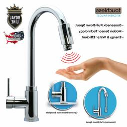 Royal Line Touchless Automatic Kitchen Faucet, Infrared Moti